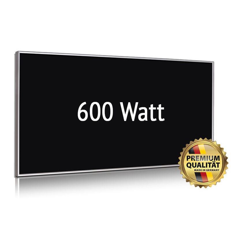 infrarotheizung glas wei 350 watt heizprinz 509 00. Black Bedroom Furniture Sets. Home Design Ideas