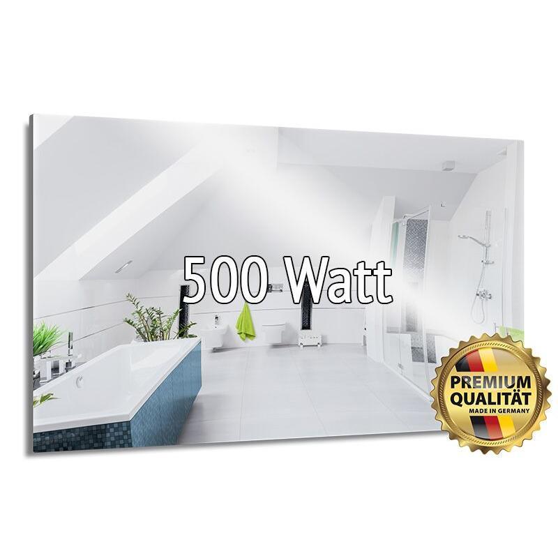 infrarotspiegelheizung 250 watt made in germany 589 00. Black Bedroom Furniture Sets. Home Design Ideas