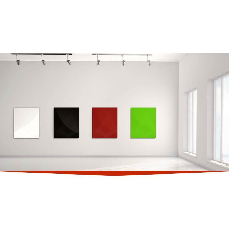 infrarotheizung glas wei 350 watt heizprinz 749 00. Black Bedroom Furniture Sets. Home Design Ideas